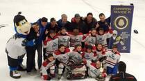 Novice A Blancs Champions du tournoi de Blainville