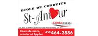 École conduite St-Amour
