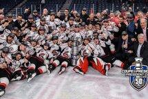 Les Huskies terminent leur saison record avec la Coupe du Président 2019