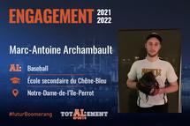 Marc-Antoine Archambault - Crédit photo - Courtoisie de l'athlète