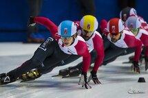 Samuel Girard sera sans aucun doute l'un des prétendants, alors qu'il devra patiner notamment contre les médaillés olympiques Charles Hamelin, François Hamelin et Charle Cournoyer. — Photo Claude Rochon