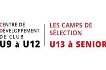 Inscriptions hiver 2021 compétitif : CDC U09 à U12 et Camps Sélections et d'entraînements U13 à Senior