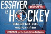 Essayer le hockey gratuitement pour les filles de 5 à 15 ans