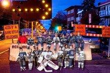 Les Ambassadeurs Pee-Wee B au Festival de hockey mineur Esso
