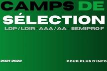 Camps de sélection 2021