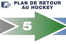 Hockey Québec ajuste sa phase 5