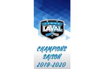 Champions saison régulière 2019-2020