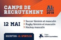 Camps de recrutement AL - Viens montrer tes talents