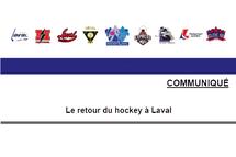 Le retour du hockey à Laval