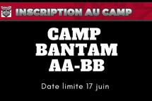 Détails camp Bantam