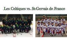 De jeunes hockeyeurs français de passage à Varennes