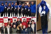Les équipes du Québec longue piste et courte piste aux Jeux du Canada Red Deer 2019!
