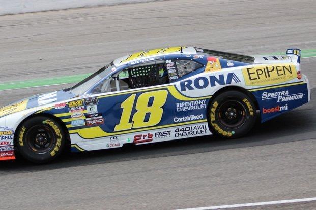 Finalement une victoire NASCAR Pinty's pour Alex Tagliani au circuit routier Canadian Tire Motorsport Park