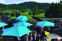 Les terrasses | Golf Château-Bromont: choisissez la vôtre !