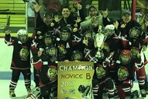 NOVICE B3 CHAMPIONS À BAIE-ST-PAUL