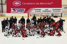 Début du programme Apprenez et Jouez des Canadiens avec Gilbert Delorme
