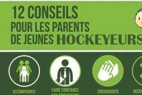 12 conseils pour les parents de jeunes hockeyeurs