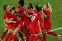 La joie après le dernier tir au but victorieux