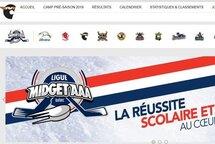Voici une partie du nouveau look de notre site Internet.