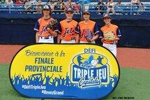 Félicitations aux représentants des Jets à la finale provinciale Triple Jeu