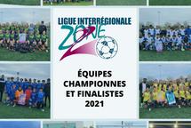 Équipes championnes et finalistes LIZ2