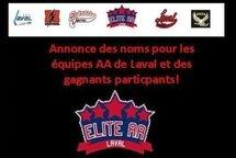 Noms des équipes AA: Hockey Laval annonce les gagnants du concours