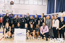 Les Dynamiques de Sainte-Foy médaillées d'argent au championnat national, les Blues de Dawson en bronze