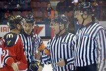 Être arbitre au hockey!