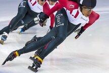 Alyson Charles, l'une des patineuses à surveiller aux Championnats canadiens sur courte piste 2018! — Photo Claude Rochon