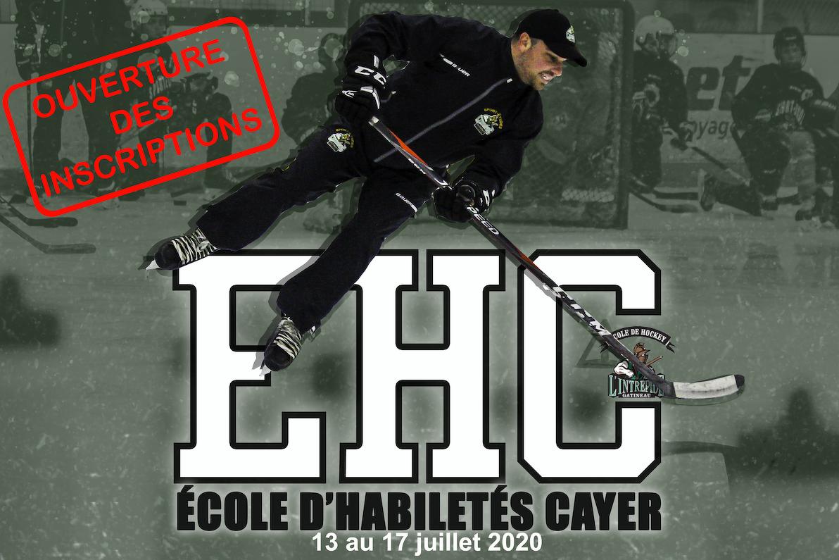 Les inscriptions pourl'Écoled'habiletés Cayer(EHC)sont maintenant ouvertes!