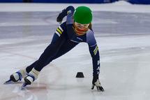 Le couvre-visage en patinage de vitesse