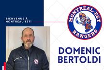 Domenic Bertoldi est le nouvel entraîneur-chef des Rangers