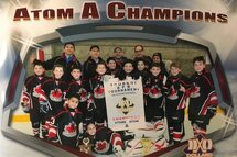 Atom A Canucks win the DDO Tournament