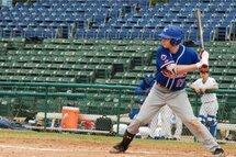 Photo ci-dessus : Édouard Julien, qui au Québec porte les couleurs de l'Académie Baseball Canada (ABC), a été le seul Québécois a prendre part au premier match du camp d'entraînement de l'équipe nationale junior canadienne. L'athlète de la région de Québec a produit un point.