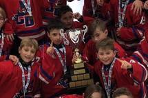 Les Grands Ducs Atome BB champions à Sherbrooke