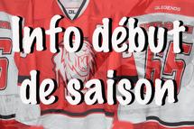Début de saison 2019 - 2020