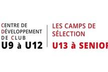 Bonne nouvelle pour les joueurs du compétitif CDC U09 à U12 et camp sélection et d'entraînement U13 à U18