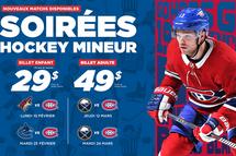 Billets pour les Canadiens de Montréal (Prise #2)