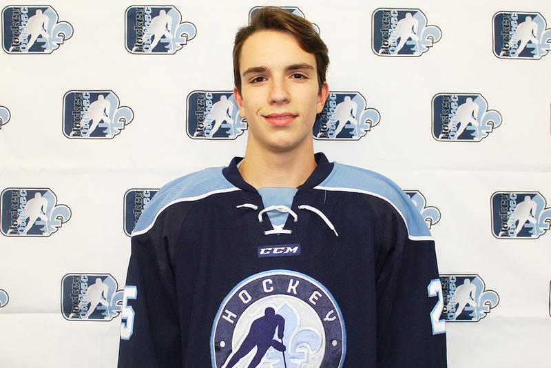 Le Québécois Guillaume Richard parmi les 25 joueurs sélectionnés pour représenter le Canada au Championnat Mondial des M18 2021 de l'IIHF