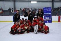 Atome C - Champions tournoi provincial Gatineau ja