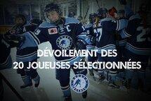 Hockey Québec dévoile les 20 joueuses qui prendront part au Championnat national féminin des moins de 18 ans!