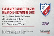 Match en rose - Le CF s'implique contre le cancer du sein