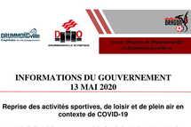Informations du gouvernement