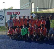 U16M-A Champions in Sherbrooke