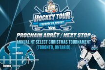 La Tournée de hockey La Petite Bretonne Vitapom à Toronto