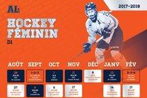 Calendrier Hockey féminin saison 2017-2018
