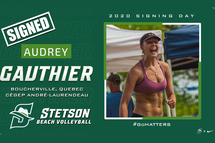 Crédit photo - Site web de l'équipe de volleyball de plage de Stetson University