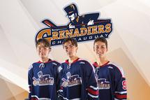 3 Grenadiers listés en première ronde!