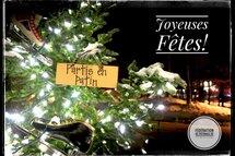 Joyeuses Fêtes / idées cadeaux de dernière minute!
