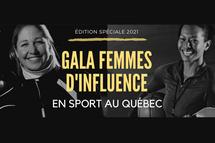 Deux nominations pour le baseball au gala Femmes d'influence 2021